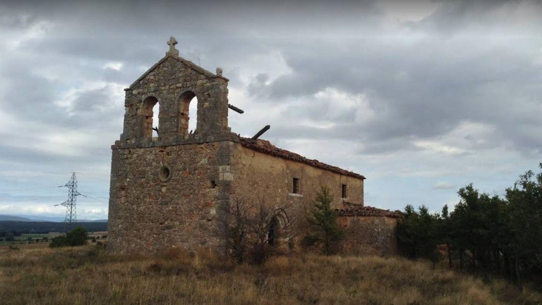 Imagen de la iglesia de La Mercadera antes del expolio. (Google)