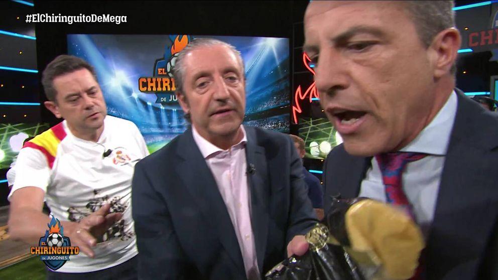 El bochornoso espectáculo, con fideos, de Cristóbal Soria en 'El Chiringuito'