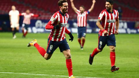 El Atlético supera otra prueba de fuego y reafirma su liderato frente al Sevilla (2-0)