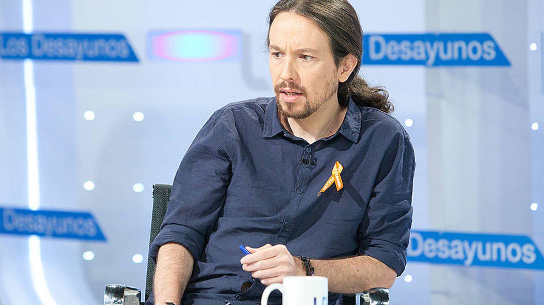 Pablo Iglesias, en 'Los desayunos' de La 1. (TVE)
