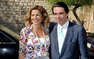 Aznar, Blesa y Koplowitz, a ritmo de gaitas en una 'boda Cortefiel'