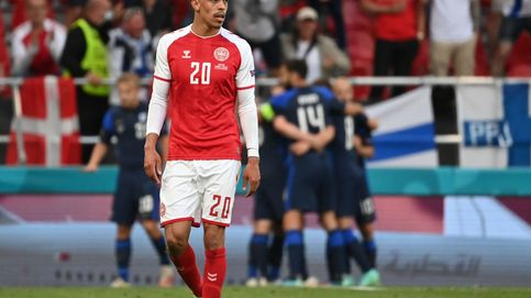 Finlandia aprovecha el desconcierto de una Dinamarca sin Eriksen y hace historia en su debut (0-1)