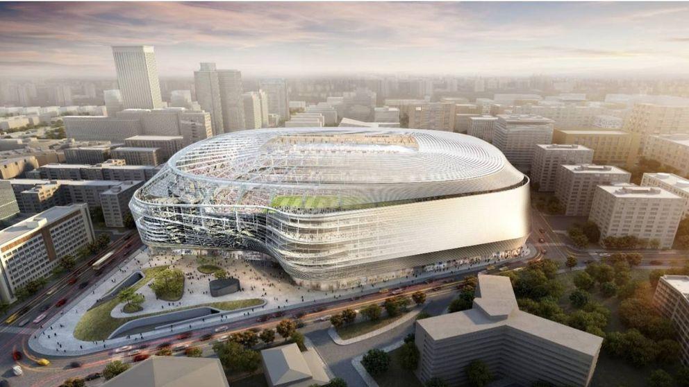 El nuevo Bernabéu: cubierto, sin hotel y una inversión de 400 millones de euros
