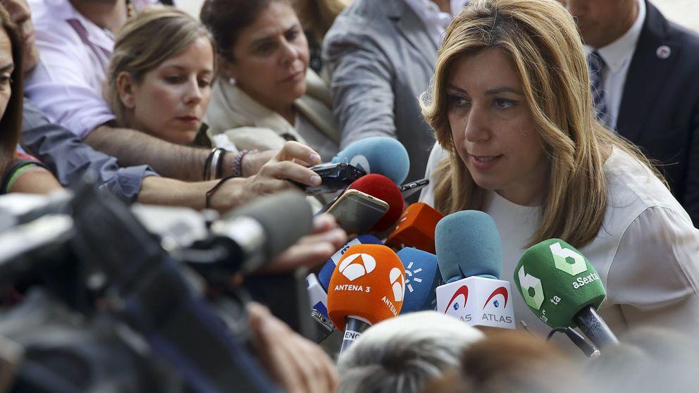 El patio del PSOE de Susana Díaz se revuelve contra la abstención