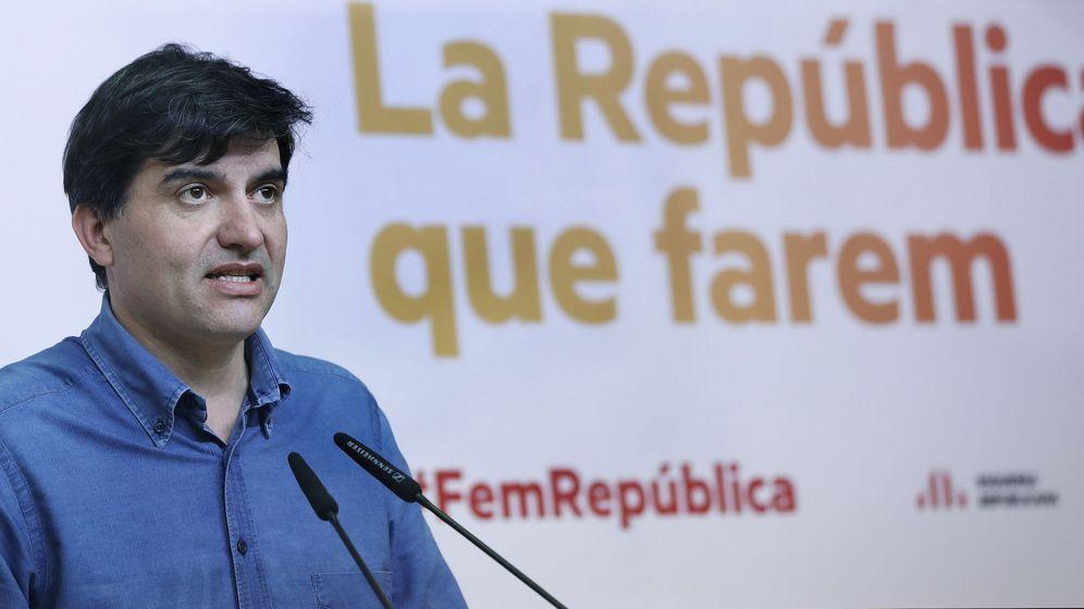 Foto: El portavoz de ERC y diputado de Junts pel Sí, Sergi Sabrià, en una imagen de archivo. (EFE)