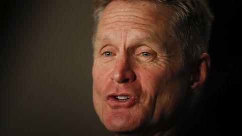 Steve Kerr, el arquitecto de los Warriors que ve los partidos desde el vestuario