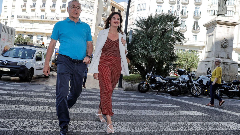 Joan Ribó y Sandra Gómez. (EFE)