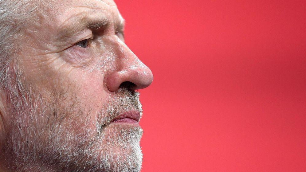 Foto: Jeremy Corbyn en una conferencia en Brighton (Reuters)