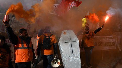 Manifestación trabajadores de Alcoa y Ghosn comparece ante el juez: el día en fotos