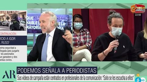 Pablo Iglesias demandará a Inda por lo dicho ante Ana Rosa: La ultraderecha mediática