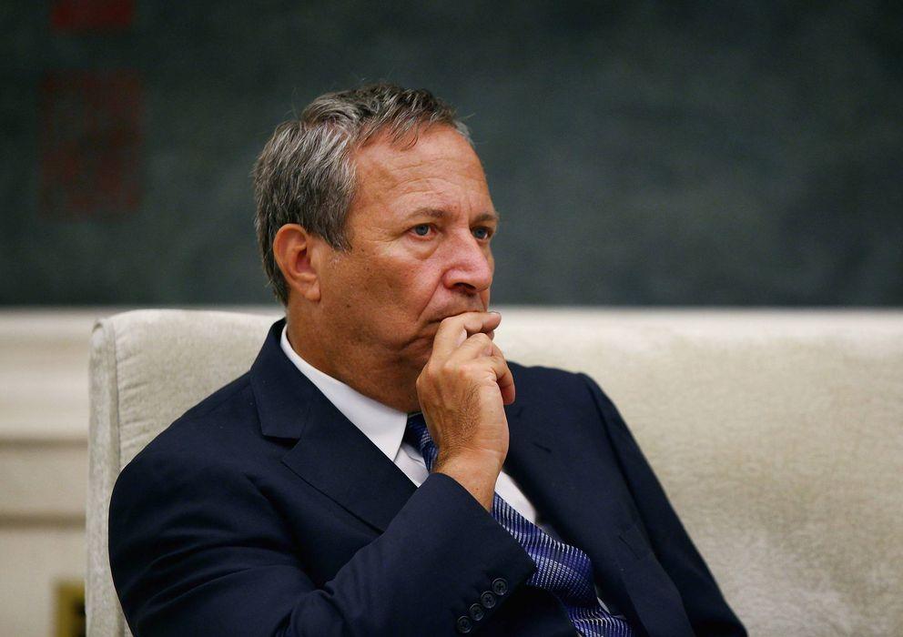 Foto: El ex secretario del Tesoro, Larrry Summers