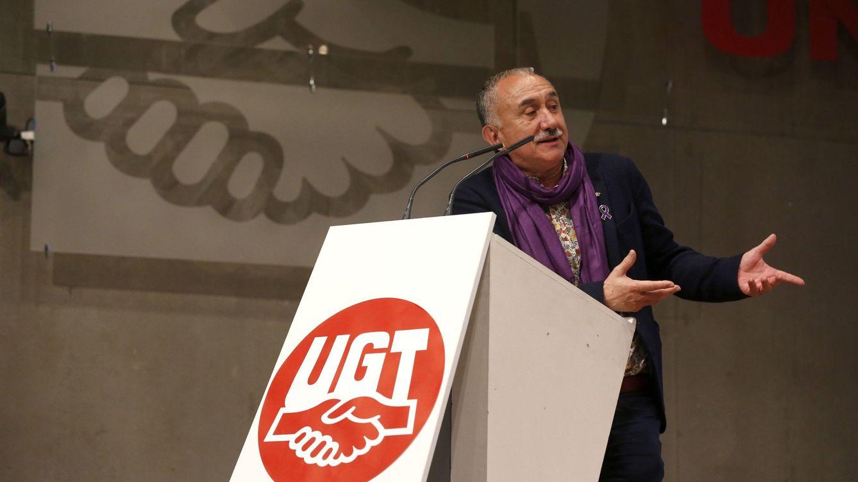 Foto: El secretario general de UGT, Pepe Álvarez, en una imagen de archivo. (Efe)