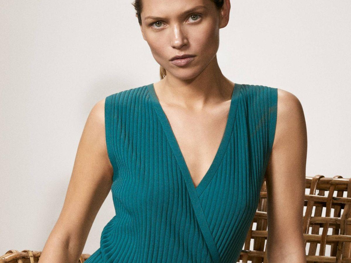 Foto: Nuevo vestido de Massimo Dutti. (Cortesía)
