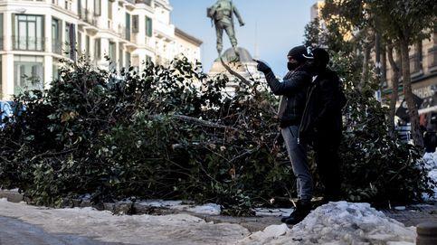 Más del 50% de las calles de Madrid siguen sin ser limpiadas tras el temporal Filomena