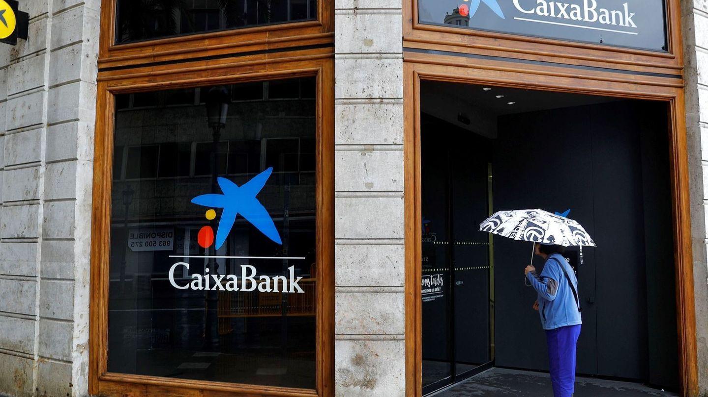 Oficina de CaixaBank. (EFE)