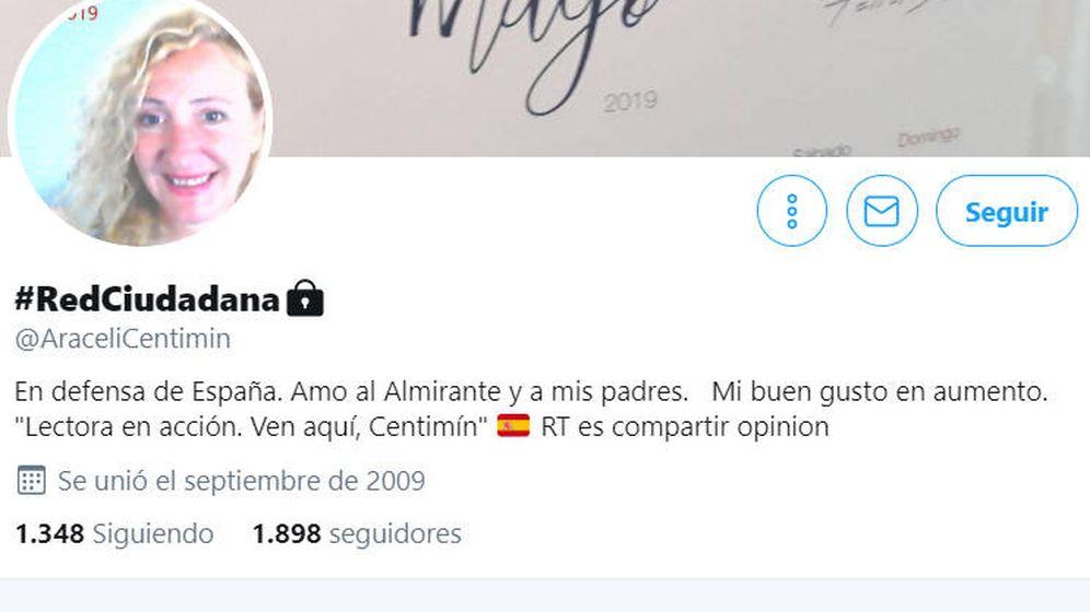 Foto: La cuenta de Araceli es privada y sólo se pueden leer sus mensajes si ella lo permite (Foto: Twitter)
