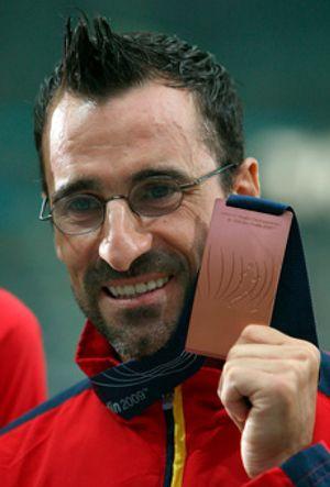 El atleta García Bragado, candidato del PP catalán a la alcaldía de Sant Adrià de Besòs