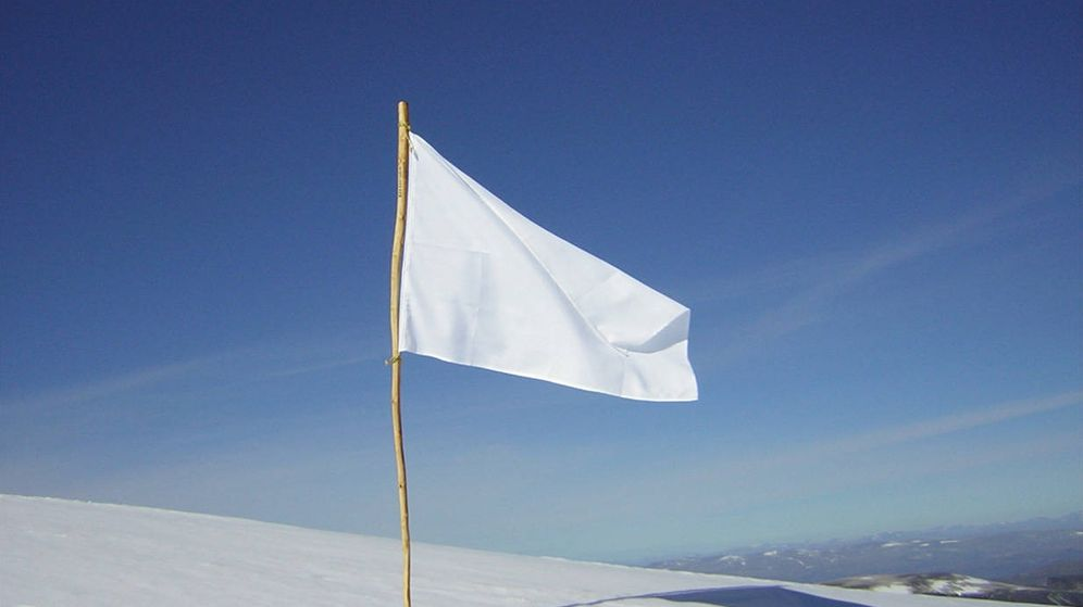 Foto: Bandera blanca (Jan Jacobsen-CC)