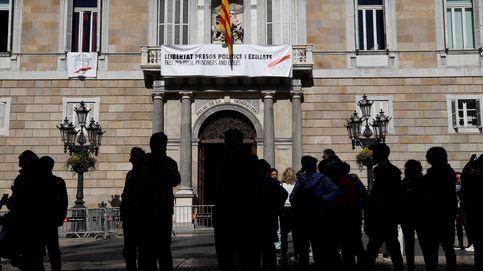 La Junta Electoral pide información sobre los nuevos lazos colocados por Torra