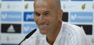 Post de Zidane se queda: