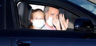 Post de La reina Letizia cede todo el protagonismo a Leonor a su llegada a Mallorca