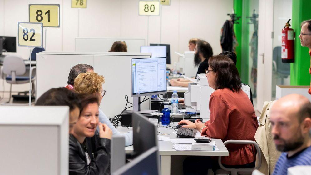 Foto: Oficinas centrales de la AEAT en Valladolid. (EFE)