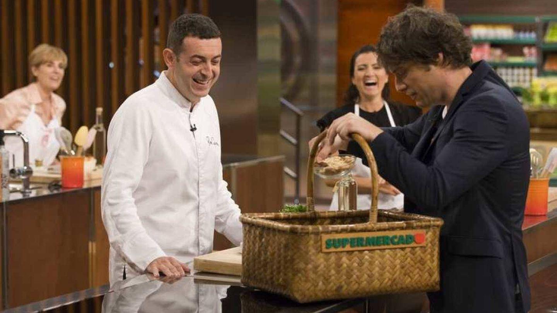 Jordi, con el chef invitado, Ricard Camarena.