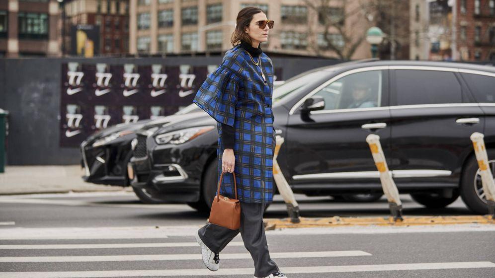 Foto: Street style de la Semana de la Moda Nueva York. (Imaxtree)
