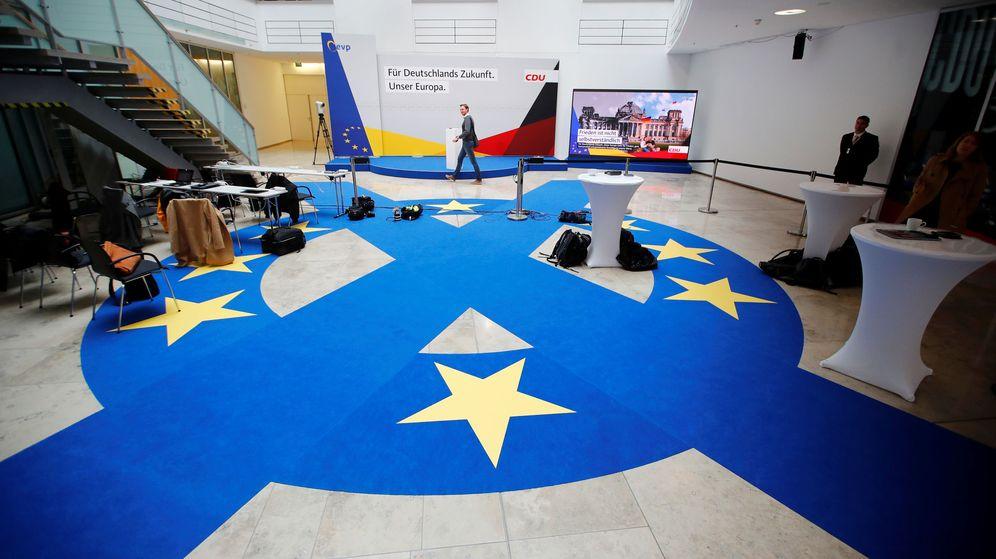 Foto: Campaña de la CDU alemana para las elecciones al Parlamento Europeo. (Reuters)