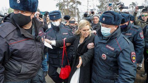 Al menos 1.770 detenidos en Rusia en las marchas en favor del opositor Alexéi Navalni