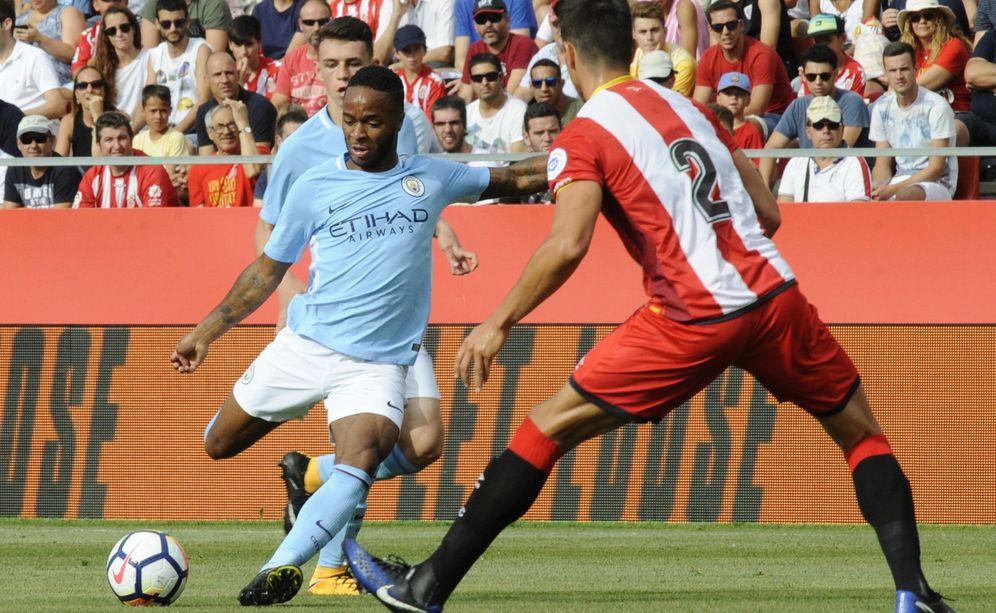 Foto: Girona y Manchester City jugaron un amistoso en Girona el 15 de agosto. (EFE)