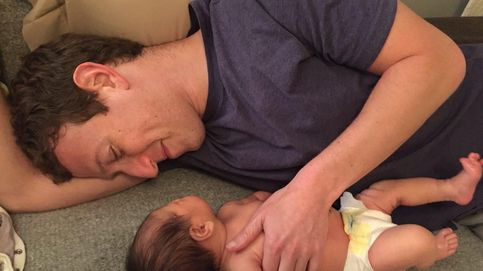 Mark Zuckerberg, todo un padrazo con la pequeña Max