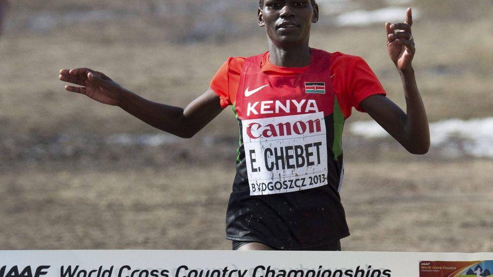 Emily Chebet, campeona del mundo de cross, sancionada 4 años por dopaje