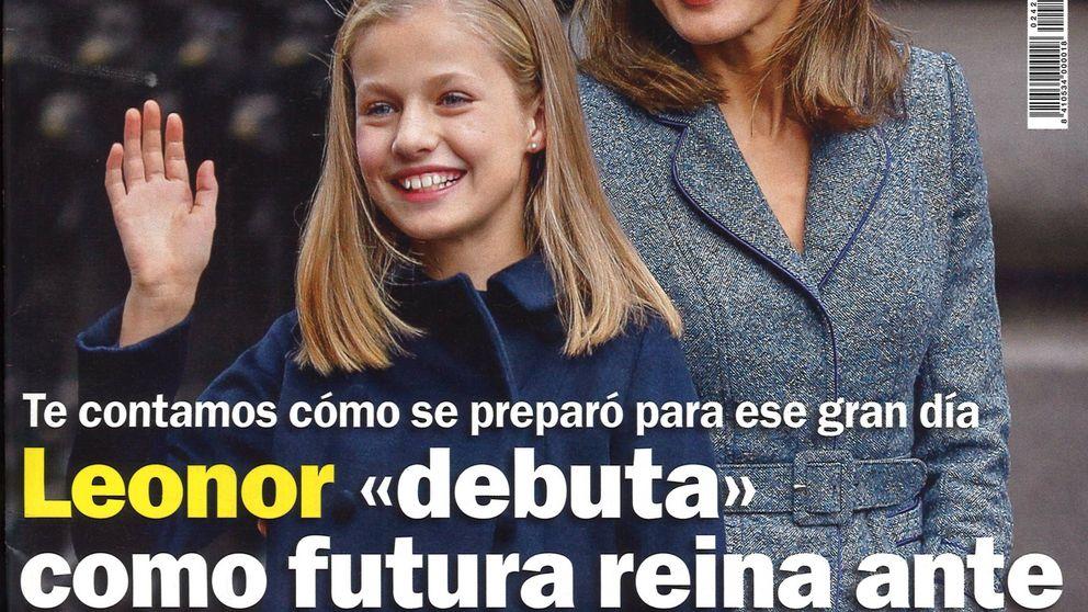 La preparación de Leonor y la 'batalla' de Toñi Moreno y Emma García