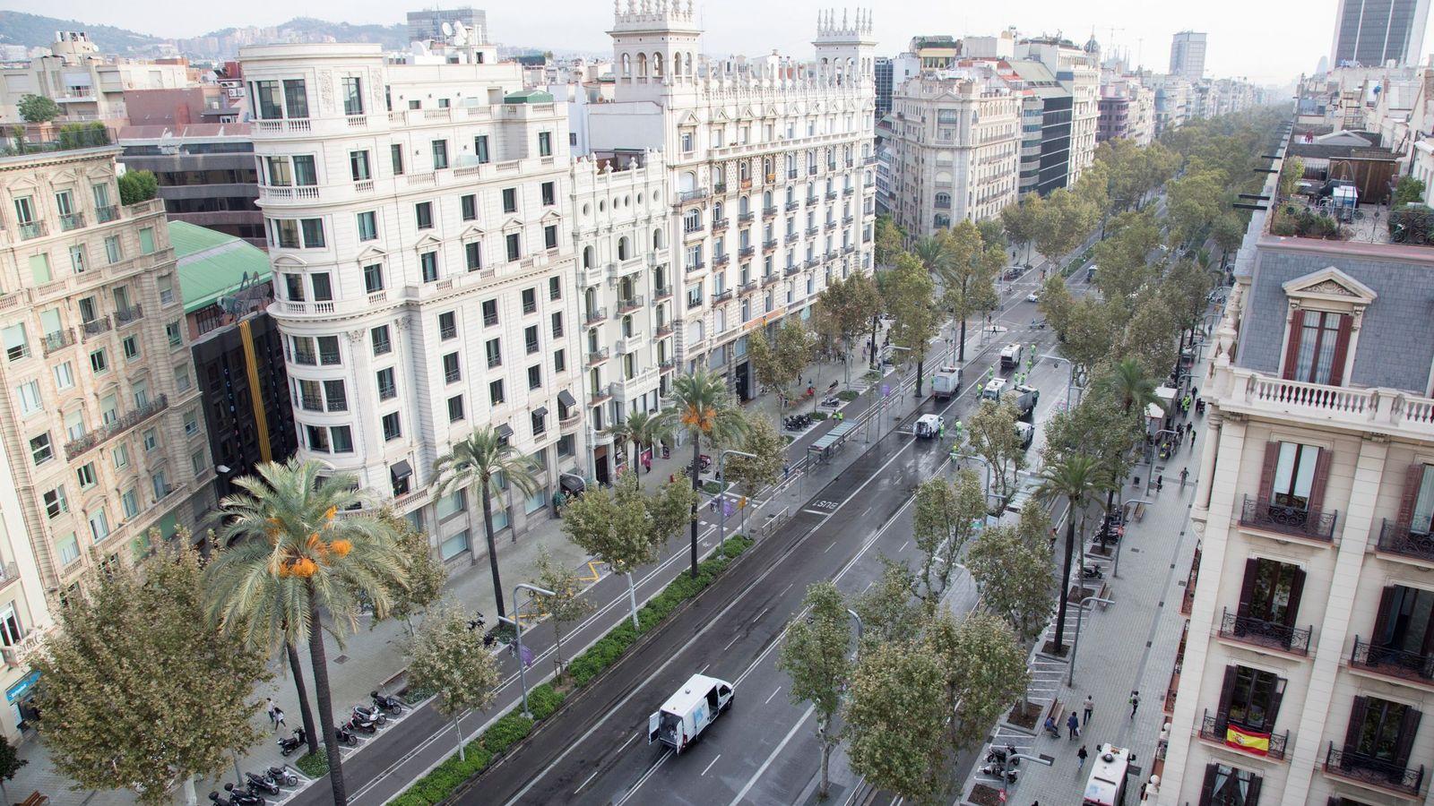 Foto: Avenida Diagonal en Barcelona. (EFE)