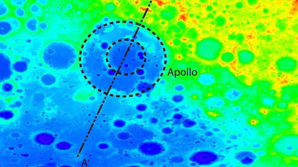 Misterio en la Luna: ¿por qué hay un cráter gigantesco en su cara oculta?