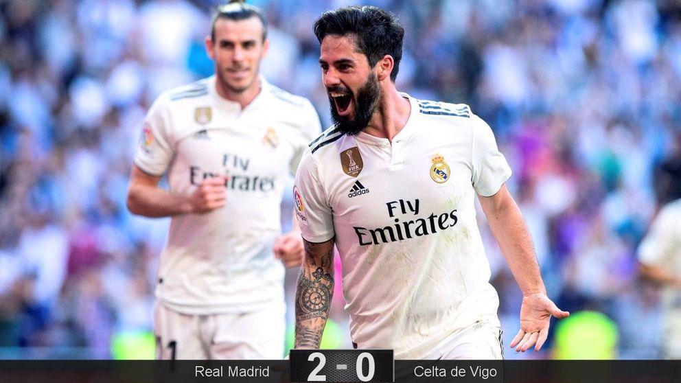 El indulto de Zidane con Isco funciona en el Real Madrid: así cierra una herida