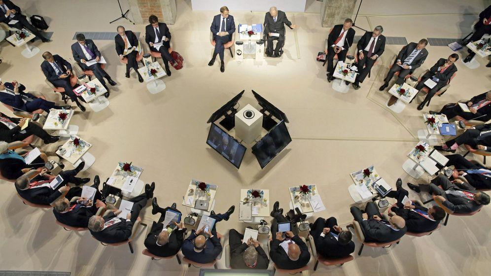 Foto: Reunión de ministros de finanzas del G7 en Dresde (Alemania). (EFE)