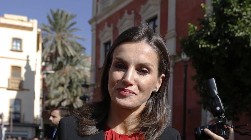 Foto: La reina Letizia en Sevilla. (Getty)