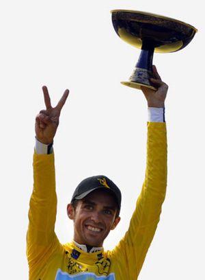El Astana, equipo de Contador y Armstrong, gozó de un trato de favor en el Antidopaje del Tour