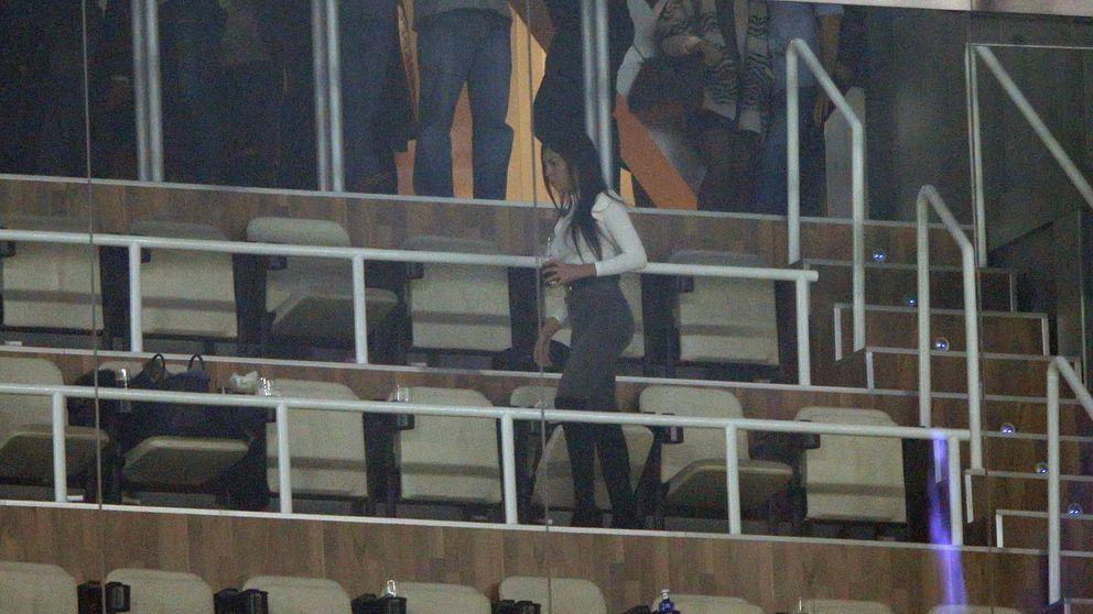 Georgina, la novia de Cristiano Ronaldo, 'cazada' en el palco vip del Bernabéu