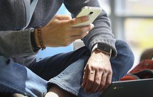 Galaxy S5 se burla de los usuarios de iPhone por su escasa batería