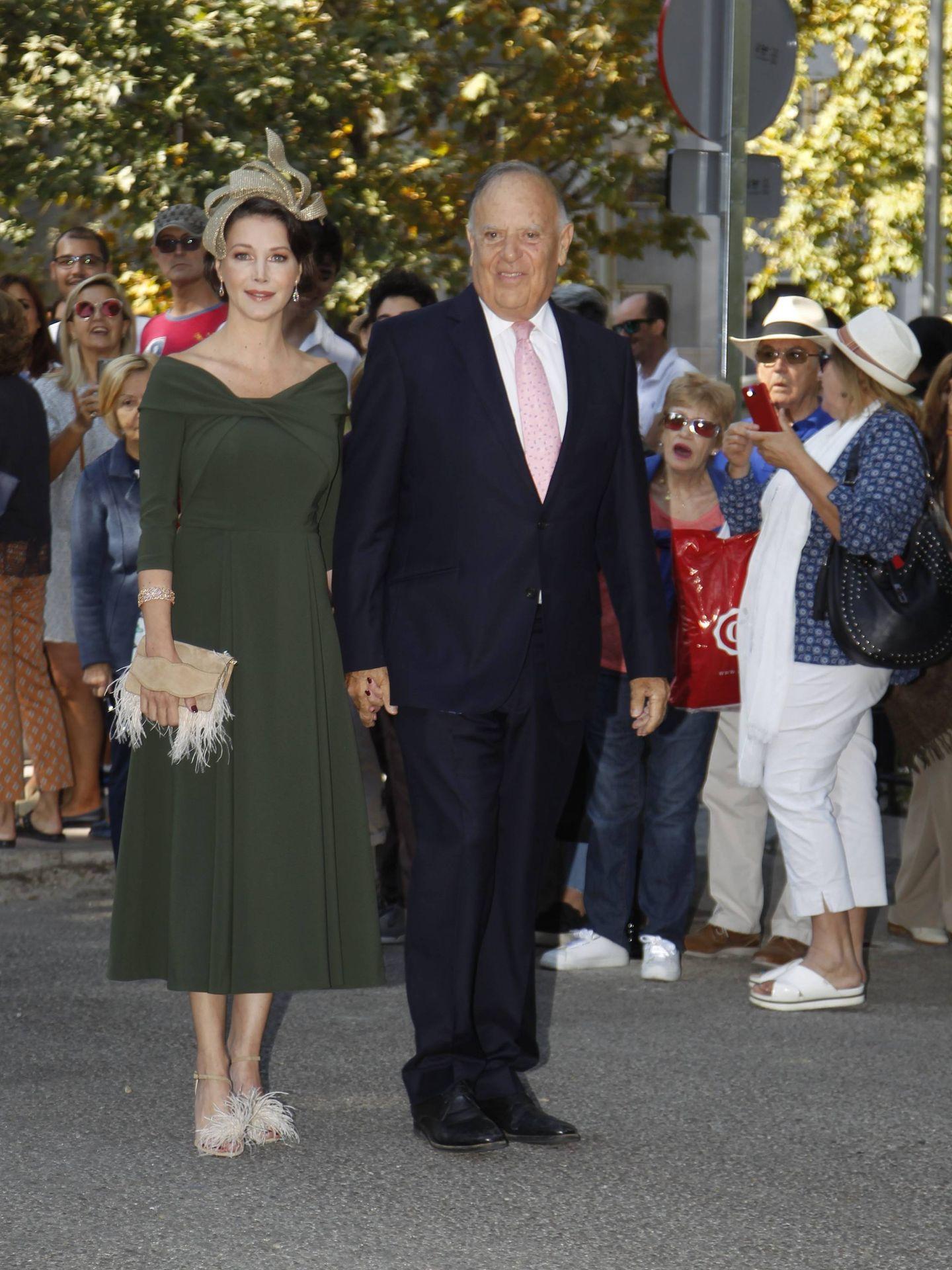 Los marqueses de Griñón, Carlos Falcó y Esther Doña. (CP)