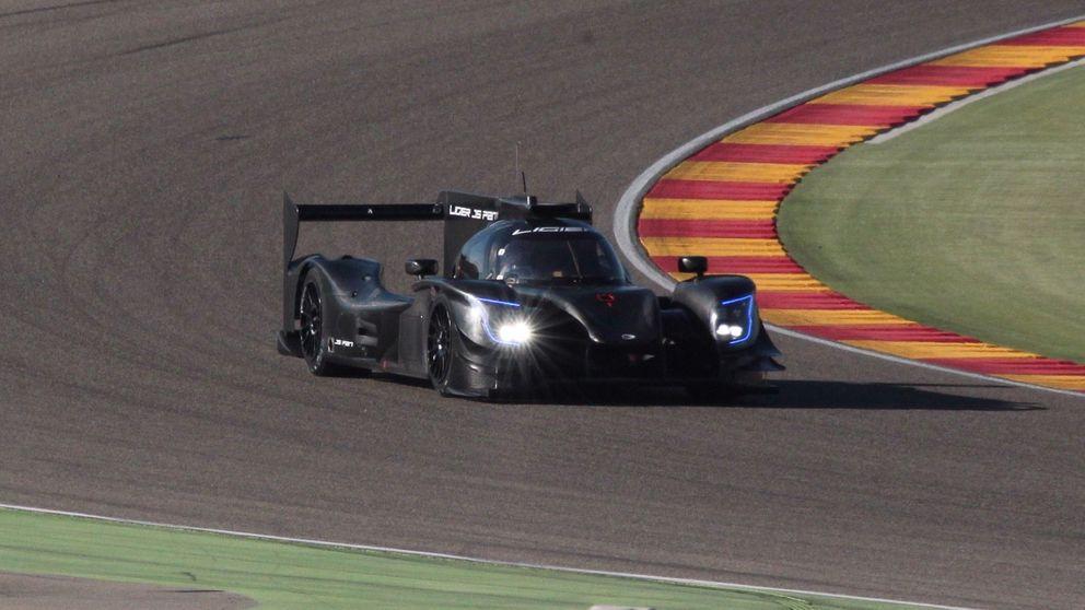 Fernando Alonso y su Ligier para Daytona en Motorland