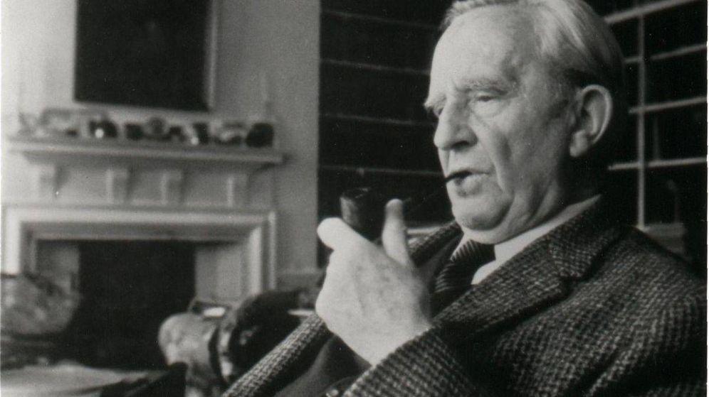 Foto: Una imagen de J. R. R. Tolkien.