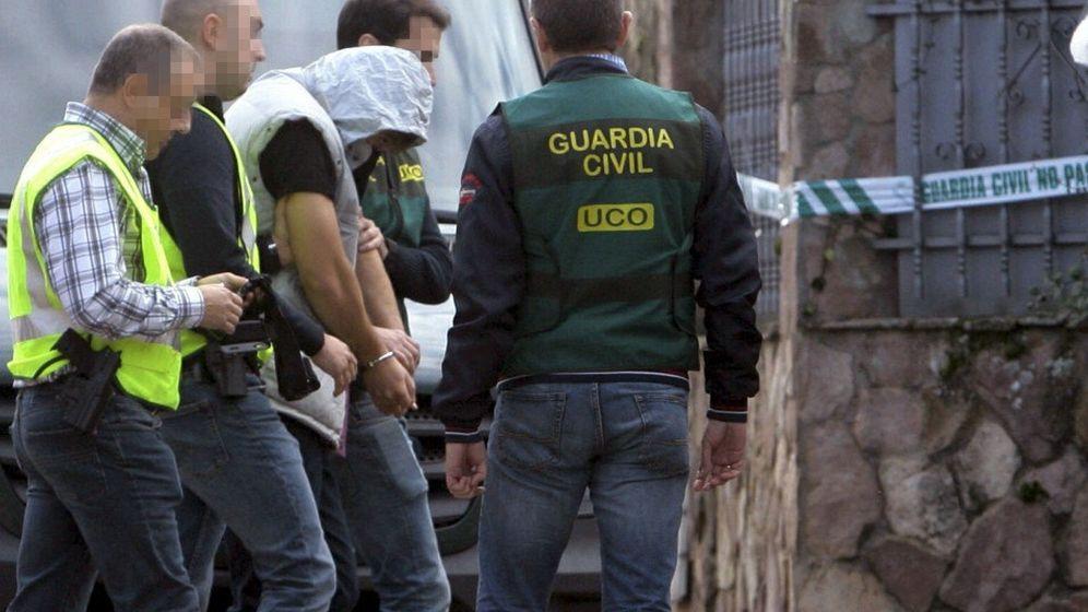 Foto: Patrick Nogueira llega a Pioz para reconstruir el crimen (EFE)
