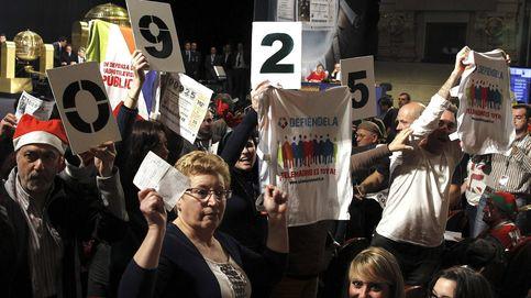 Las protestas por la sanidad pública y Telemadrid se cuelan en el sorteo