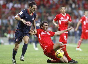 El Atlético de Madrid empata con Toluca en el cierre de su gira mexicana