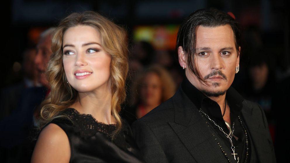 Amber Heard le pide el divorcio a Johnny Depp tras un año de matrimonio