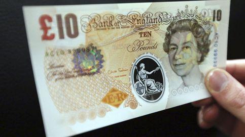 La libra protagoniza el mayor repunte frente al euro desde 2009